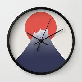Cat Landscape 98 Wall Clock