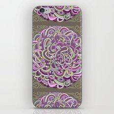 Detailed circlecorner, purple olive  iPhone & iPod Skin