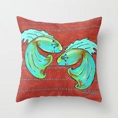 Betas Throw Pillow