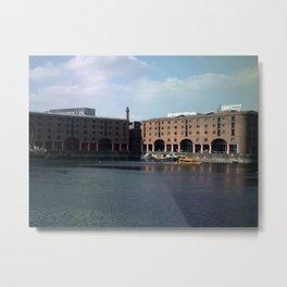 Liverpool Albert Dock by FGW 2013 Metal Print