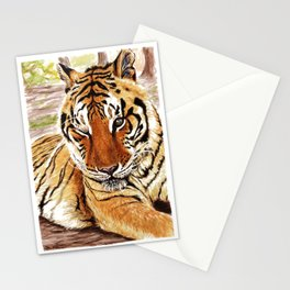 Zeus At Rest Stationery Cards