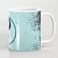 yin yang Mugs featuring Yin & Yang by Mr and Mrs Quirynen