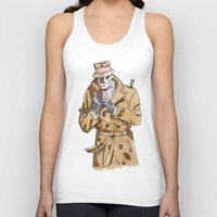 rorschach Tank Tops featuring Rorschach by Of Newts and Nerds
