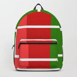Christmas color bar Backpack