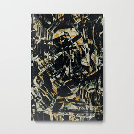 Pattern № 77 Metal Print