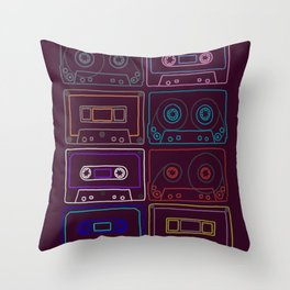 Awesome mixes Throw Pillow
