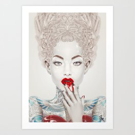 """Porcelain"" Art Print"