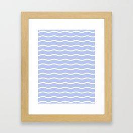 Feel the wave Framed Art Print