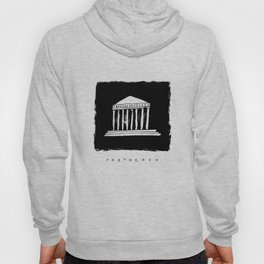 Parthenon in ink Hoody