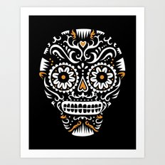 Sugar Skull SF  Art Print