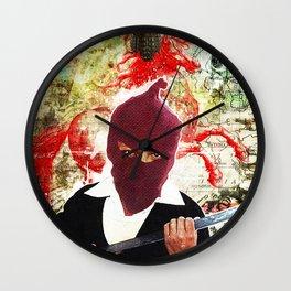 Mi Caballo Rojo Wall Clock