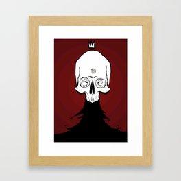 Nevar, King of the Dead Framed Art Print