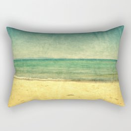 Seascape Vertical Abstract Rectangular Pillow