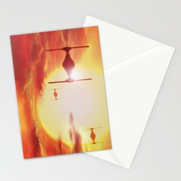 Tie Fighters Stationery Cards