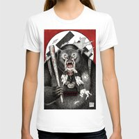 quentin tarantino T-shirts featuring Inglourious Basterds (Quentin Tarantino) The Bear Jew by ARTbyGB