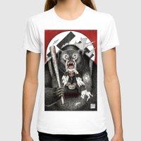 tarantino T-shirts featuring Inglourious Basterds (Quentin Tarantino) The Bear Jew by ARTbyGB