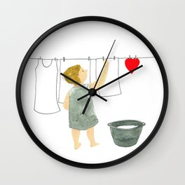 Make it dry Wall Clock