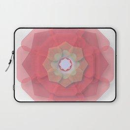 Pink Floral Meditation Laptop Sleeve