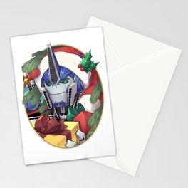 Yuletide Robodad Stationery Cards