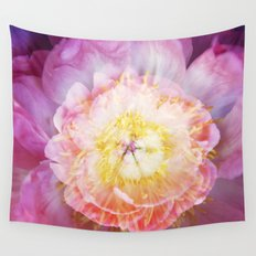 Peony Abstractions Wall Tapestry