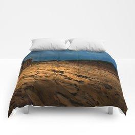 Bantham Beach Exit Comforters