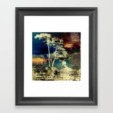 the tree Framed Art Print