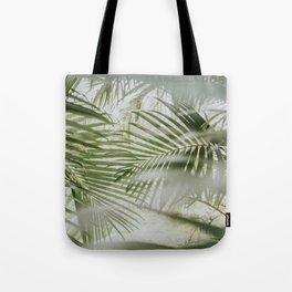 Aloha Palm Leaves // Haiku, Maui Tote Bag