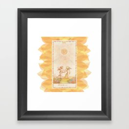 Il Sole Framed Art Print