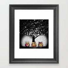 owl-52 Framed Art Print