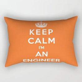 Keep Calm I'm An Engineer Rectangular Pillow