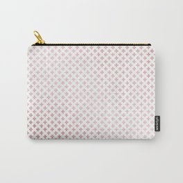 Simply Crosses in Rose Gold Sunset Carry-All Pouch