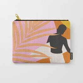Noon Surfer Abstract Minimalism #1 #minimal #decor #art #society6 Carry-All Pouch