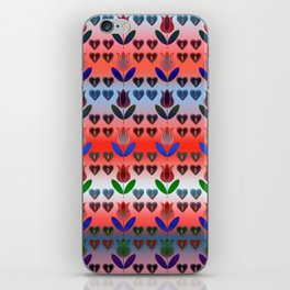 Tall Tulips iPhone Skin