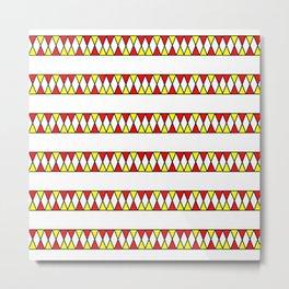 Funnies stripes I Metal Print