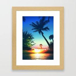 Naples MashUp VI Framed Art Print