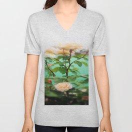Floral Blossoms Unisex V-Neck
