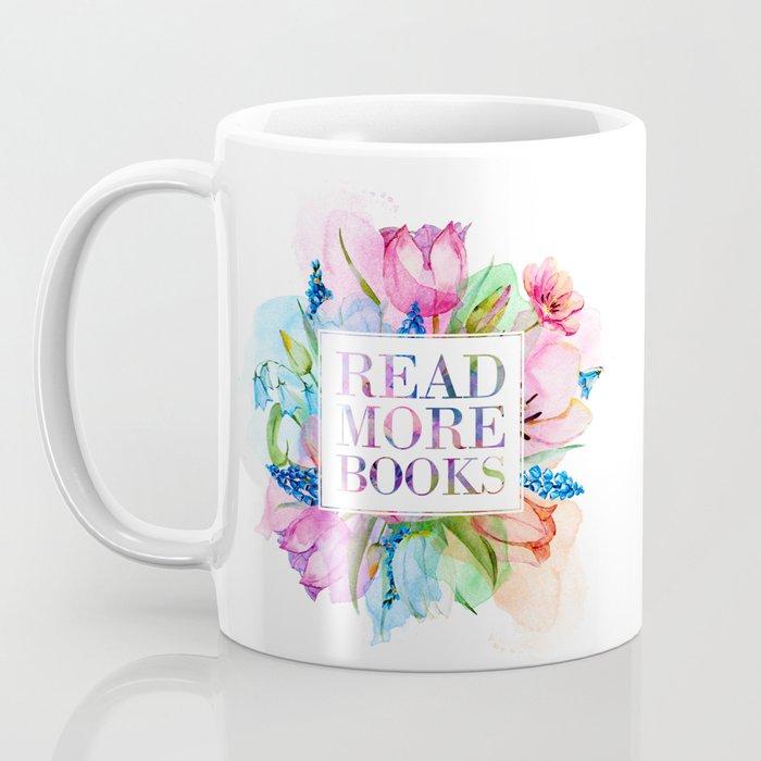 Read More Books Pastel Coffee Mug