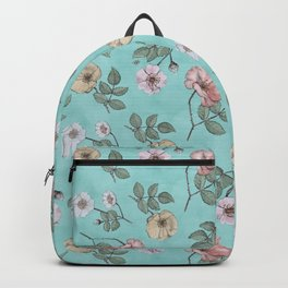 Georgian Chintz Roses Backpack