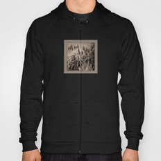old timey tulips (square) Hoody