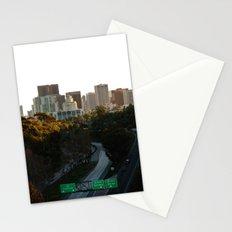 Downtown San Diego Skyline Stationery Cards
