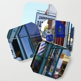 Jacksonville Barber Shop Coaster