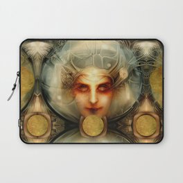 """Art Deco Retro The Chimera"" Laptop Sleeve"