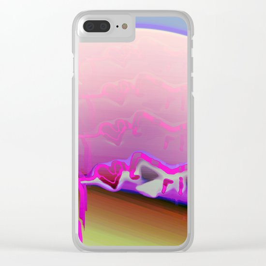 Made of Sand / Avatar Clear iPhone Case