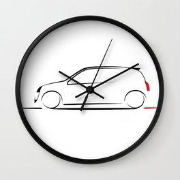 Clio silhouette Wall Clock