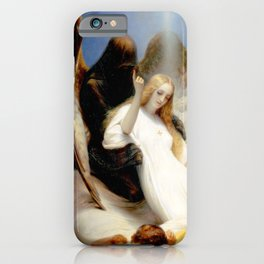 The Angel of Death iPhone Case