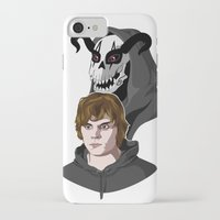 kris tate iPhone & iPod Cases featuring Tate Langdon by Cécile Appert