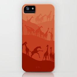 The Giraffe Hills iPhone Case