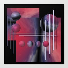 liking geometry -2- Canvas Print