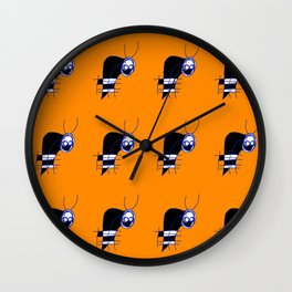 White Grem Wall Clock