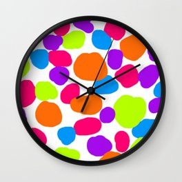 Paints Wall Clock